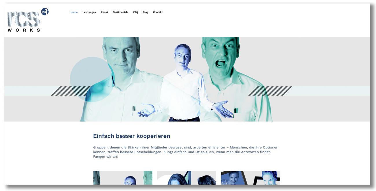 RCSWorks Webseiten