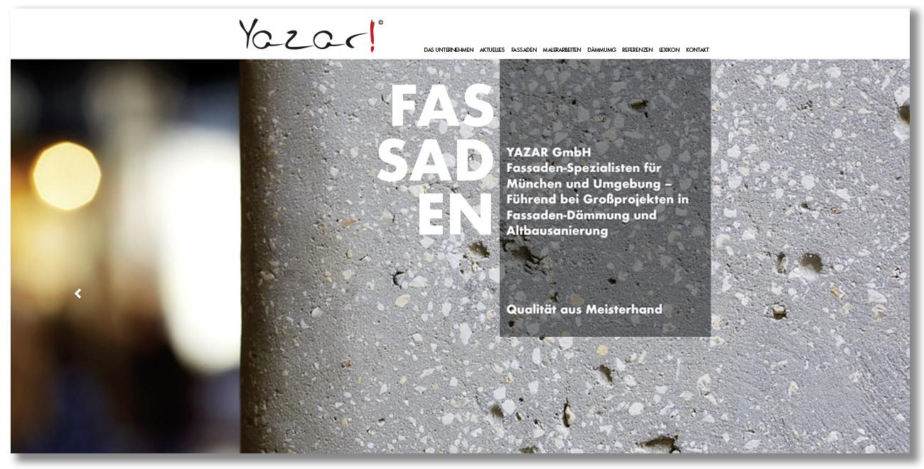 YAZAR GMBH – DIE FASSADENEXPERTEN
